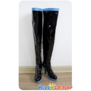Vocaloid Cosplay Hatsune Miku Long Pleather Boots