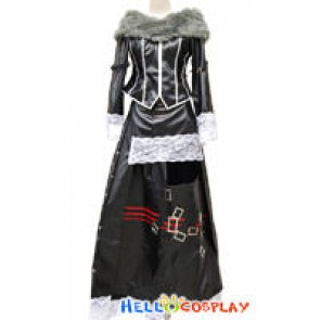 Final Fantasy X Lulu Cosplay Costume