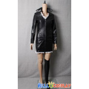 One Piece Cosplay Nico Robin Black Leather Costume