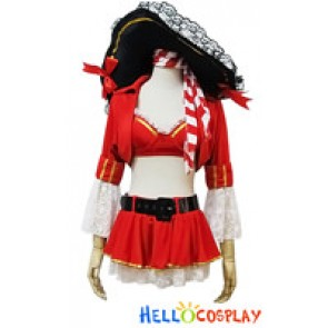 Angel Feather Cosplay Retro Palace Pirate Costume