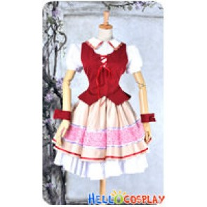 AKB0048 Cosplay Nagisa Motomiya Costume Dress