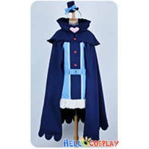 Karneval Cosplay Kiichi Blue Cloak Uniform Costume
