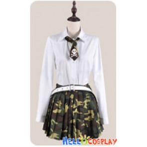 Btooom Cosplay Himiko Hemilia Uniform Costume Winter Ver