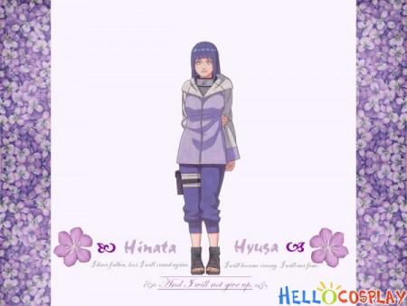 Naruto Hinata Hyuga Cosplay Costume
