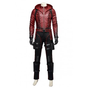 Green Arrow Season 3 Red Arrow Roy Harper Cosplay Costume New Version