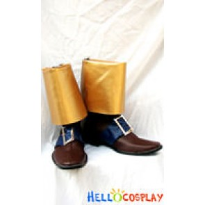 Richter Belmont Cosplay Boots From Castlevania X: Rondo of Blood