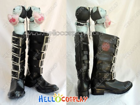 Alice: Madness Returns Alice Cosplay Black Boots