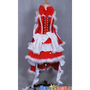 Pandora Hearts Cosplay Alice Christmas Dress