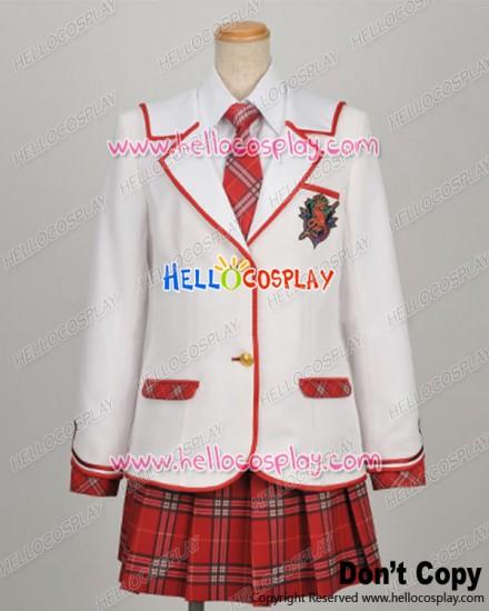 Daitoshokan No Hitsujikai Cosplay Girl Uniform Tie Ver Costume