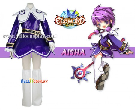 Elsword Cosplay Aisha Costume