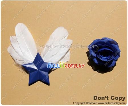 Fairy Tail Cosplay Yukino Aguria Headwear Brooch