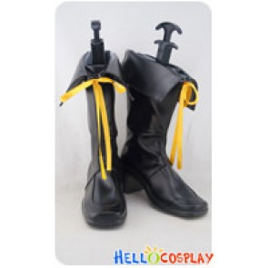 AKB0048 Cosplay Yellow Ribbon Short Boots