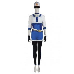 Pokemon GO Female Blue Uniform Cosplay Costume