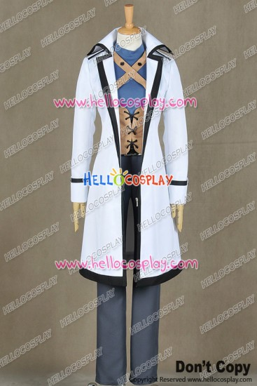 Fairy Tail Cosplay Wizard Gray Fullbuster Costume Uniform