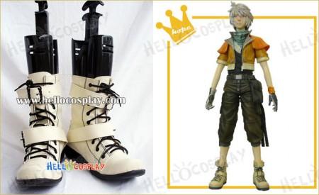 Final Fantasy XIII Cosplay Hope Estheim Beige Boots