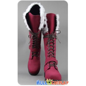 Blue Exorcist Cosplay Rin Okumura Red Long Boots