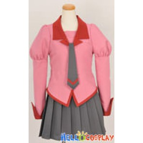 Bakemonogatari Cosplay School Girl Uniform