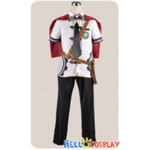 Final Fantasy Type 0 Cosplay Dominion Of Rubrum Class Zero Costume Summer Uniform