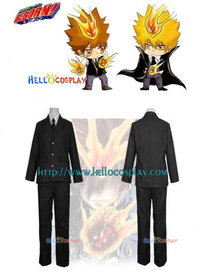 Katekyo Hitman Reborn Tsunayoshi Sawada Cosplay Suit