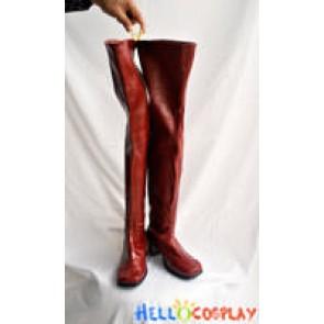 Vocaloid 2 Cosplay Meiko Sakine Long Boots