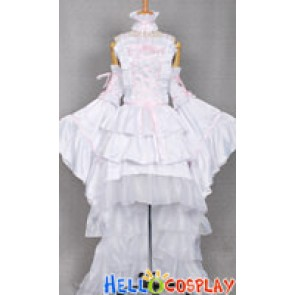 Chobits Cosplay Costume Chi White Dress
