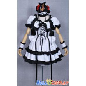 Haruhi Suzumiya Cosplay Haruhi Suzumiya Gothic Lolita Dress