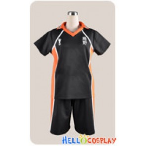 Haikyū Cosplay Shoyo Hinata Uniform Costume Without Number Ver