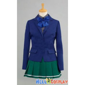 Accel World Cosplay Kuroyukihime Black Lotus School Uniform