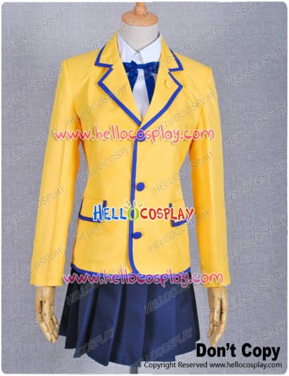 Black Rock Shooter Cosplay Costume School Uniform