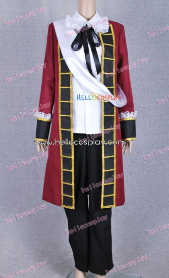 Axis Powers: Hetalia Cosplay Costume France Traditional Clothes