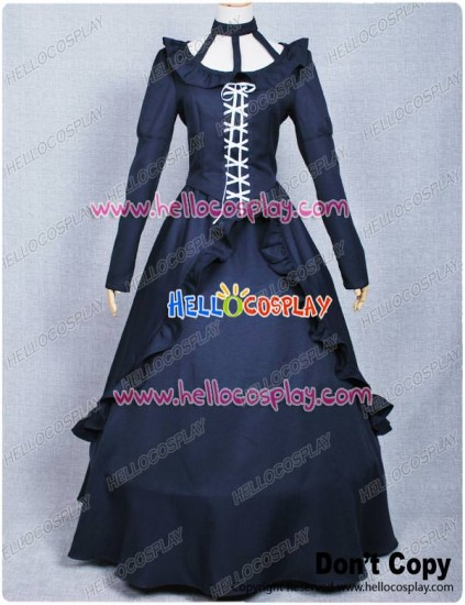 D.Gray Man Cosplay Costume Lenalee Lee Princess Dress