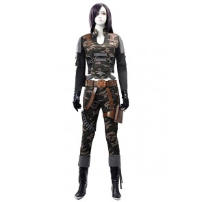 Assault Fire Black Widow Cosplay Costume Uniform