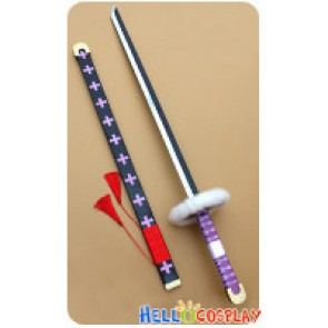 One Piece Cosplay Surgeon Of Death Trafalgar Law Katana Sword Weapon