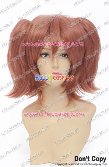 Riddle Story Of Devil Cosplay Haru Ichinose Wig Double Ponytails Red Brown