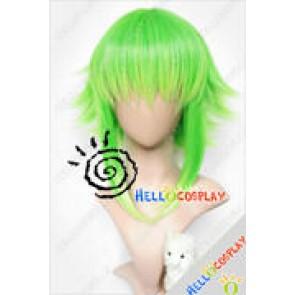 Vocaloid Cosplay Gumi Green Blonde Wig