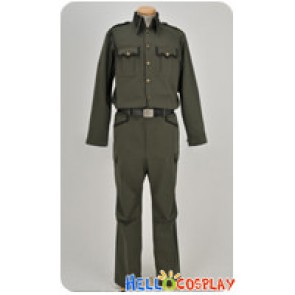 Full Metal Panic Cosplay Sousuke Sagara Kurz Weber Uniform Costume