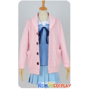 Beyond The Boundary Kyoukai No Kanata Cosplay Mirai Kuriyama Sailor Girl Uniform Costume