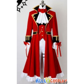 Pandora Hearts Cosplay Oz Vessalius Costume Red