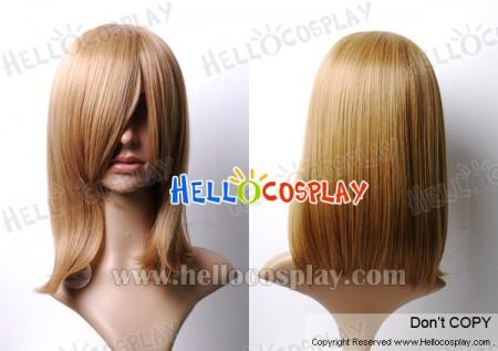 Chocolate 45cm Cosplay Straight Wig