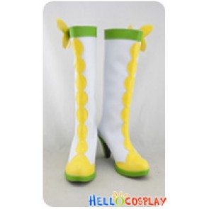 DokiDoki PreCure Cosplay Shoes Alice Yotsuba Cure Rosetta Boots