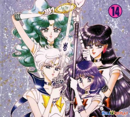 Sailor Moon Sailor Neptune Weapon Deep Aqua Mirror