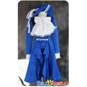 Black Butler Cosplay Ciel Phantomhive Blue Uniform Costume With Hat