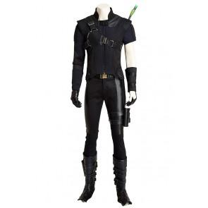 Captain America 3 Civil War Hawkeye Clint Barton Cosplay Costume