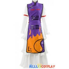 Touhou Project Cosplay Yukari Yakumo Purple Dress Costume