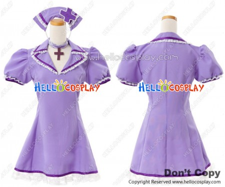 Vocaloid 2 Cosplay Luka Megurine Dress Costume Love Ward Nurse Outfit