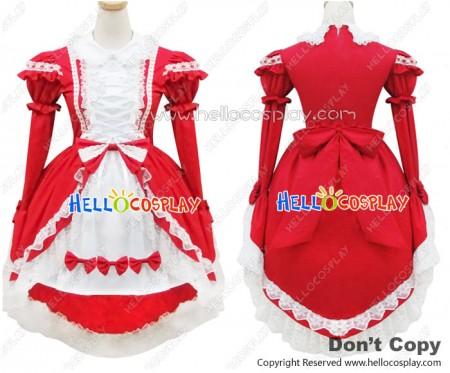 Angel Feather Cosplay Lolita Nobby Swallowtail Princess Dress