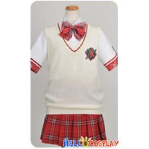Daitoshokan No Hitsujikai Cosplay Tsugumi Shirasaki Vest Uniform Costume