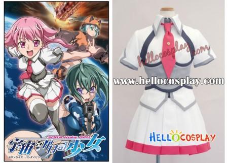 Sora Kake Girl Cosplay Akiha Shishido Costume