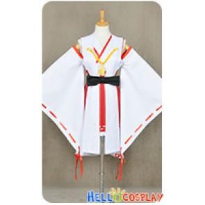 Kantai Collection Combined Fleet KanColle Cosplay Haruna Costume Kimono
