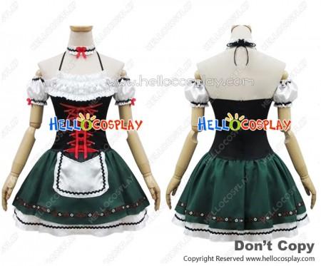 Angel Feather Cosplay Ethnic Sweetheart Maid Dress